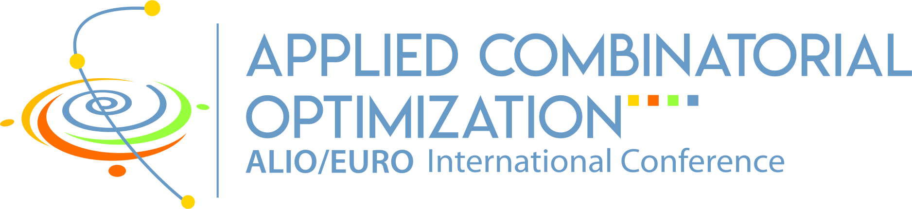 Logo Joint ALIO/EURO International Conference 2021-2022 on Applied Combinatorial Optimization